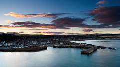 Stonehaven (burnsmeisterj) Tags: olympus omd em1 stonehaven harbour sea sunset