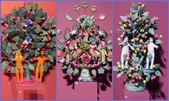 Basel - Paradiesbäume - Adam+Eva (thobern1) Tags: paradiesbäume paradies garteneden adameva adam eva eve museum museumderkulturen kulturen basel ch schweiz switzerland dreieckland
