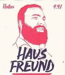 Germany - Hausfreund Brewery (Ottobrunn) (cigpack.at) Tags: germany deutschland hausfreund moritz helles ottobrunn bier beer brauerei brewery label etikett bierflasche bieretikett flaschenetikett
