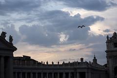 Roma, Piazza San Pietro. (fabrizio brugnoletti) Tags: rome sanpietro