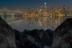 San Francisco Skyline & the Bay Bridge (ADW44) Tags: sanfrancisco citybythebay california sonya7iii sonyalpha wideangle longexposure skyline transamericapyramid salesforcetower baybridge