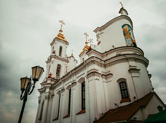 Vitebsk, Belarus (lisa_nikolajeva) Tags: art belarus vitebsk architecture arts autumn building buildings cathedral center church citycenter cityscape cloud clouds cloudy culture day exterior facade memorial monument outdoor religion religious sky skyline street tour tourist town travel traveler trip triptoeurope vacation weathered беларусь витебск ві́цебск витебскаяобласт витебскаяобласть