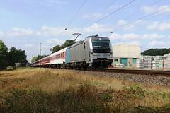 RailPool Vectron 193 827 met Euroexpress rijtuigen te Schüttorf (daniel_de_vries01) Tags: railpool vectron 193 827 met euroexpress rijtuigen te schüttorf