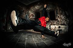 DSC_4847 (MarkusScheuren) Tags: breakdance bboy dance tanz hiphop graffiti cologne france adidas nikon d810 fisheye