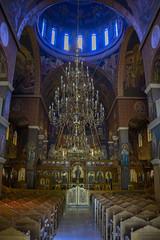 The Sound of Silence (Explore) (Rudi Pauwels) Tags: crete rethymno fotosondag stiltje fs180826 greece church tessaronmartyron summer2018 tamron 18270mm tamron18270mm nikon d7100 nikond7100 interior emptyroom