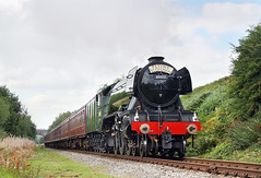 Is Flying Scotsman Coming? (Neil Harvey 156) Tags: steam railway steamloco steamengine steamlocomotive 60103 flyingscotsman thequarry heywoodline eastlancsrailway elr pacificloco a3classpacific a3 gresleypacific lner gresley