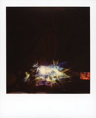String Cheese Incident (tobysx70) Tags: polaroid originals color 600 instant film slr680 string cheese incident red rocks amphitheatre west alameda parkway morrison denver county colorado co stage lighting smoke night nocturnal motion blur long exposure music gig concert jamband polaradoone polarado 072018 toby hancock photography