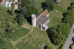 St Marys Church in Rickinghall - Suffolk aerial (John D Fielding) Tags: rickinghall church roundtower above aerial nikon d810 hires highresolution hirez highdefinition hidef britainfromtheair britainfromabove skyview aerialimage aerialphotography aerialimagesuk aerialview drone viewfromplane aerialengland britain johnfieldingaerialimages fullformat johnfieldingaerialimage johnfielding fromtheair fromthesky flyingover fullframe