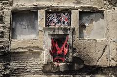 Lost Legacy (BLIND (ELF CREW)) Tags: streetart urbanart muralart graffiti contemporaryart traditionalart collaboration wheatpaste instaiation ranianarchitecture vault doorway ambient letter calligraphy calligraffiti irangraffiti persiangraffiti iranstreetart iranurbanart گرافيتي گرافيتى هنرشهری هنرخیابانی نقاشىديوارى blindelfcrew