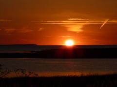 sunset (achatphoenix) Tags: sun sunset coucherdusoleil sky evening sonnenuntergang seeland sjaelland zealand water aqua eau cielo
