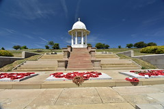 Chattri War Memorial (PLawston) Tags: uk britain england west sussex south downs national park midsussex link border path chattri war memorial indian poppy wreaths first world