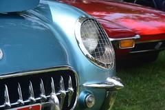 DSC_5533 (jd_vette) Tags: classics lawn oakwood ohio dayton cars vintage ford detomaso pantera 1972 351 cleveland ghia chevrolet corvette 1955 c1