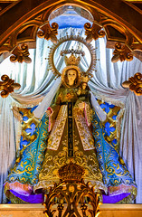 The canonically crowned Nuestra Señora de Caridad de Bantay (Apo Caridad) of the Saint Augustine Parish Church in Bantay, Ilocos Sur (Fritz, MD) Tags: apocaridad nuestraseñoradecaridaddebantay nuestraseñoradecaridad ourladyofcharity saintaugustineparishchurch bantaychurch bantayilocossur bantay ilocossur ilocosregion ilocandia