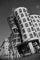 The Dancing House _ FP4665M (attila.stefan) Tags: stefán stefan attila pentax k50 prague prága praha 2018 summer nyár dancing house building