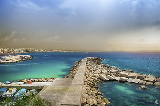 Sea, sky, earth, Puglia