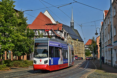 Leoliner NGTW6-H #5 HVG Halberstadt (3x105Na) Tags: leoliner ngtw6h 5 hvg halberstadt strassenbahn strasenbahn tram tramwaj deutschland niemcy germany