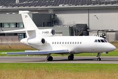 D-AHER (GH@BHD) Tags: daher dassault falcon falcon900 falcon900ex heronaviation trijet corporate executive bizjet bhd egac belfastcityairport aircraft aviation