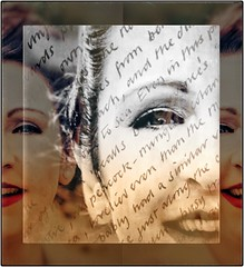 Audrey's diary (Milly M.) Tags: creativephotography creative doubleexposure prettylady eyes layers lips