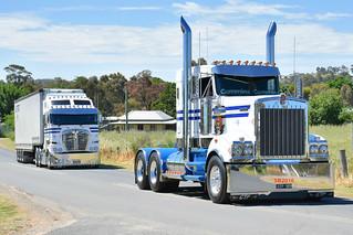 Gattuso Transport - Kenworth T909 & Kenworth K200