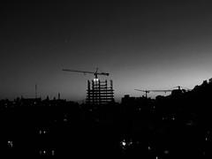 Sun..set ! #bw #mobilegraphy (r.kootval) Tags: tehran city urban bnw sunset iran bw mobilegraphy
