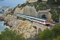 447+447 (firedmanager) Tags: renfe rodalíes tren train trena 447 caf cercanías catalunya sitges ferrocarril