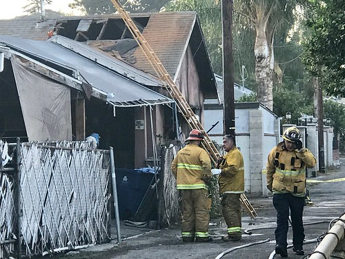 Girl Perishes, Six Injured in Cypress Park House Fire
