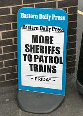 The Wild East! (Kingmoor Klickr) Tags: newspaper headline