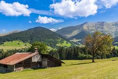 Megève (France) (JBGenève) Tags: europe france megève mountains montagne montblanc forêt forest sky ciel landscape paysage village clouds nuages