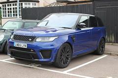 LN65LVX (AndrewHA's) Tags: hertfordshire bishopsstortford car range rover sport svr ln65lvx blue