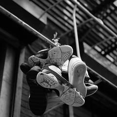 (johnnydutcher) Tags: city bw les street streetphotography sneakers urban photography nyc lowereastside fujixt2 fujifilm blackandwhite monochrome