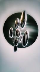 I am inside (Antiteilchen) Tags: deckenlampe lamp leuchte lampe glass glas metall metal decke spiegelung selbsportrait spiegel art kunst leibnizstrasse hotelartnouveau hotel germany deutschland berlin