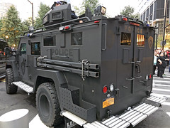 Picture Of Port Authority Of New York And New Jersey Police Lenco Armored Vehicle Taken At Ground Zero In Lower Manhattan. Photo Taken Tuesday September 11, 2018 (ses7) Tags: port authority of new york and jersey police
