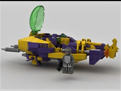 (Brick-Kop) Tags: lego moc speeder bike lsb digital render