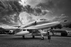 Douglas A-4C Skyhawk (Ross Dinsdale) Tags: douglasaircraft pasm a4c douglasa4cskyhawk a4 skyhawk a4cskyhawk attackbomber douglas nikcollection tucson arizona monsoon pimaairandspacemuseum clouds monsoon2018