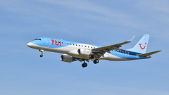 Tui airlines 00-TEA (aminekaytoni) Tags: ootea tui airlines landing atterrissage airpline avion aviation spotted nikon d3300 sigma 120400 os hsm embraer 190