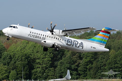SE-MDH ATR-72 BRA BRAATHENS REGIONAL AIRLINES (QFA744) Tags: semdh atr72 bra braathens regional airlines