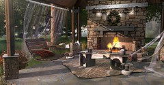 Cozy Afternoons (MadsPhotoFreak) Tags: asw secondlife sl jian little branch lb hour bondi known goose autumn fire galland homes apple fall cozy blueprint