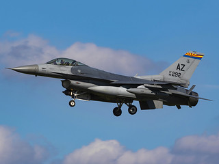 United States Air Force | General Dynamics F-16C Fighting Falcon | 86-0292