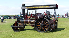 "Reg: AFW 301, 1934, Fowler Road Roller, Nr.18867, ""Ida"" (bertie's world) Tags: lincolnshire steam vintage rally 2018 traction engines motorcycles reg afw 301 1934 fowler road roller nr18867 ida"