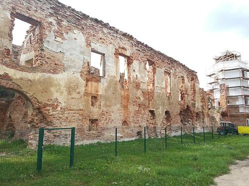 Ruiny zamku Sapiehów w Holszanach