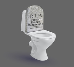 Descanse en paz (vlekuona) Tags: toilet isolated bowel urinate urine tank closet white bowl bathroom sanitary new privacy concept seat clean household cutout cistern object lav ceramic bath cut lavatory public empty wc home closed background lid hygiene domestic water kazakhstan