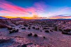 Good morning Atacama... (holecem) Tags: sunrise colors morning wakeup desert atacama bolivia lagunanegra chile border jeep hdr tripod