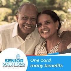 SENIOR CITIZEN CARD WITH MANY BENEFITS (unmukt.festival) Tags: seniorcare seniorliving unmuktfestival homecare soluctionforsenior