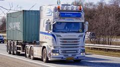 AW79845 (18.04.06, Motorvej 501, Viby J)DSC_4970_Balancer (Lav Ulv) Tags: 245288 r580 v8 2016 topline 6x24 bindslevtransport white e6 euro6 container scania rseries pgrseries scaniarseries 3axletrailer truck truckphoto truckspotter traffic trafik verkehr cabover street road strasse vej commercialvehicles erhvervskøretøjer danmark denmark dänemark danishhauliers danskefirmaer danskevognmænd vehicle køretøj aarhus lkw lastbil lastvogn camion vehicule coe danemark danimarca lorry autocarra danoise motorway autobahn motorvej vibyj highway hiway autostrada trækker hauler zugmaschine tractorunit tractor artic articulated semi sattelzug auflieger trailer sattelschlepper vogntog