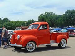 Happy Truck Thursday (novice09) Tags: truckthursday truck pickup studebaker whitewalls backtothefifties carshow htt