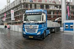 2013 Mercedes-Benz Actros 963-4-A (Michiel2005) Tags: truck lorry vrachtauto mercedesbenz mercedes mb actros 9634a lorentz bouwproject stationsplein stationsweg leiden nederland netherlands holland