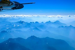 Smokey Ridges (otterdrivernw) Tags: xt2 xf1655 fuji fujix fujifilm haze ridges blue wildfire smoke coast range mountains aerials aerial