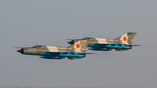 6824, Mikoyan Gurewitsch MiG-21 Lancer C Romania Air Force @ Ostrava OSR LKMT
