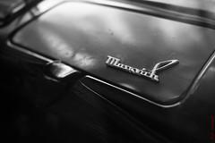 Glove department (Soviet Moskvich 412) (alexey & kuzma) Tags: fujifilm moskvitch monochrome xt20 car retro russia ussr soviet 412