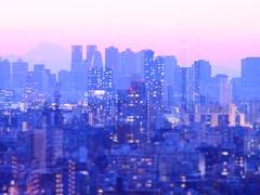 Shinjuku + Ikebukuro (minhana87) Tags: olympus omd zuiko ikebukuro shinjuku doubleexposure tokyo